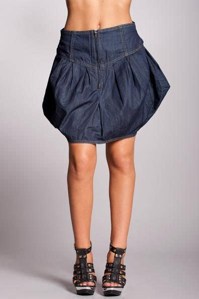 Jupe Jeanz jupe jean dekoration mode fashion