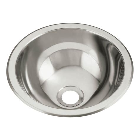 stainless bathroom sink sterling drop in round stainless steal bathroom sink in