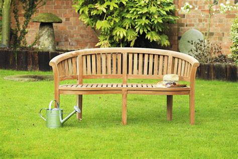 garden bench set banana teak garden bench set sloane sons
