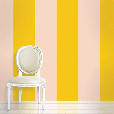 how to stick decorations without damaging walls stripe sorbet removable wallpaper half kit is peel and
