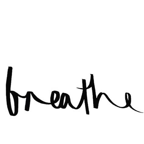 yoga tattoo fonts the 25 best breathe tattoos ideas on water