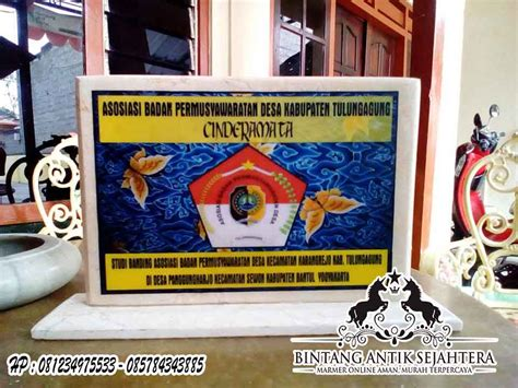 Plakat Marmer by Plakat Marmer Murah Surabaya Pusat Kerajinan Marmer