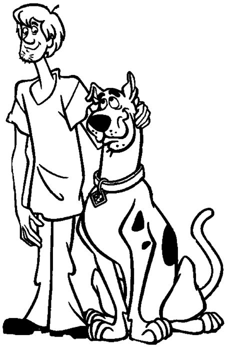 scooby doo coloring page scooby doo coloring pages coloring pages