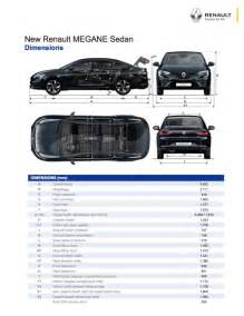 Renault Megane 3 Dimensions 2017 Renault Megane Sedan Has Specs Sheet Revealed
