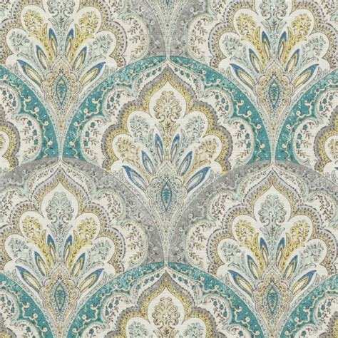 And Grey Upholstery Fabric Teal Grey Paisley Upholstery Fabric Modern Yellow Grey