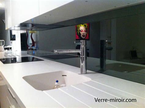 Charmant Credence En Miroir Pour Cuisine #1: Credence-en-miroir-gris.jpg