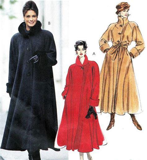 swing coat pattern free sewing pattern mccall s 7947 plus size long swing coat