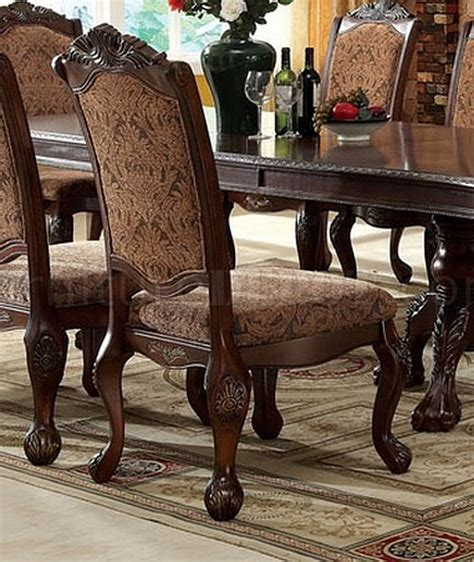 cromwell antique cherry formal dining room set cm3103t cm3103t cromwell dining table in antique style cherry w