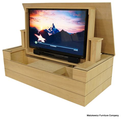 low profile tv lift cabinet modern ultra low profile flip up tv lift