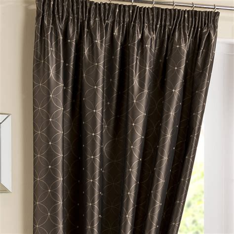 pencil pleat curtains tuscany coffee pencil pleat curtains pencil pleat