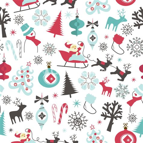 christmas pattern seamless christmas seamless pattern stock image