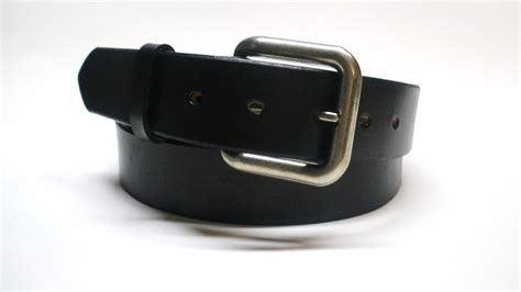 Handcrafted Leather Belt - black leather belt handcrafted s black leather belt
