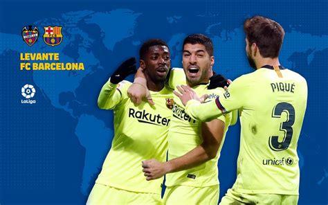 tv guide levante vs fc barcelona