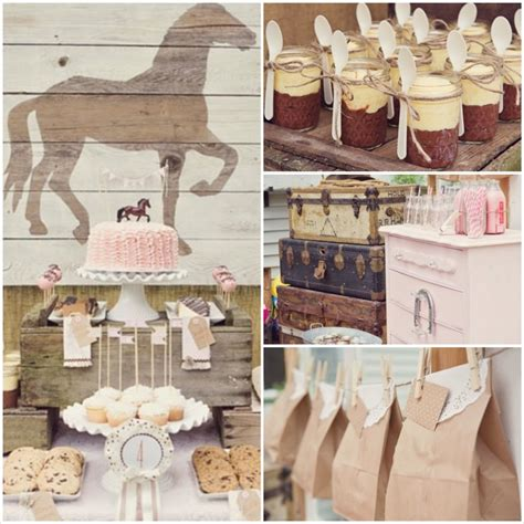 vintage themed events kara s party ideas vintage pony party supplies decor ideas