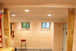 Basement Finishing Ideas Low Ceiling Exposed Basement Ceiling Home Design