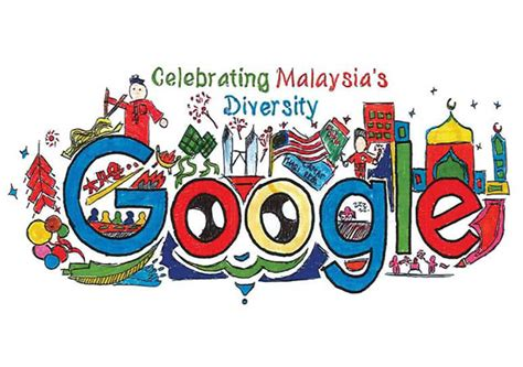 doodle malaysia doodle contest malaysia happy malaysiaday 2014 doodle 4