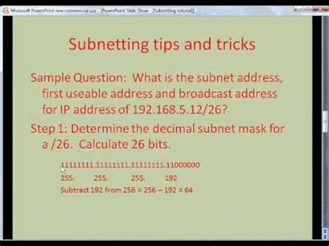 subnetting tutorial subnetting made easy image gallery subnetting explained