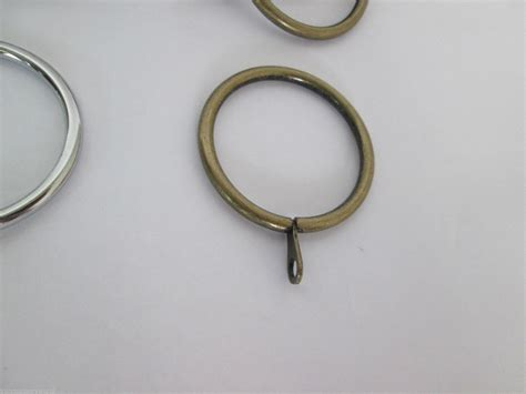 curtain metal rings strong metal curtain rings pack of 10 ironmongery world