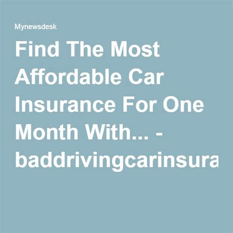 Cheap Car Insurance 1 Month by 28 Best One Month Car Insurance Quotes Images On