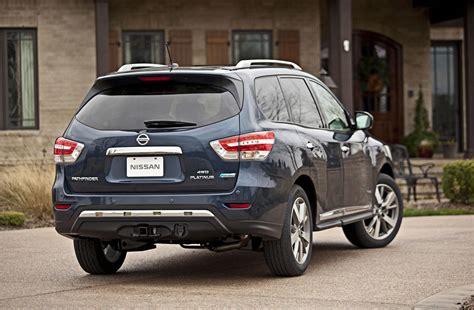 pathfinder nissan 2014 nissan unwraps 2014 pathfinder hybrid autoevolution