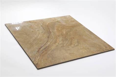 feinsteinzeug glasiert und poliert lea gold 60x60 cm