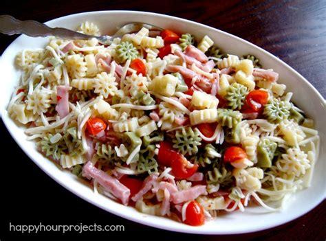 yummy pasta salad easy snowflake pasta salad