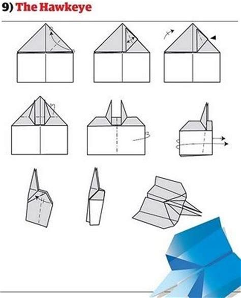 A Paper Airplane For Distance - the best paper plane different types of paper planes