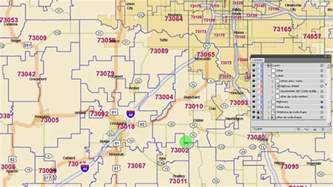 oklahoma city zip code map oklahoma zip code map 2015