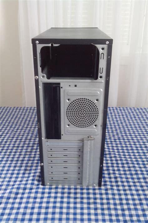 gabinete pc barato gabinete pc desktop usado preto sem fonte barato