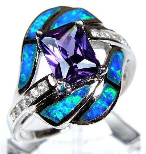 dark blue opal amethyst blue fire opal black onyx and fire opals