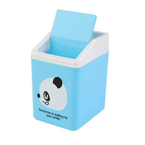 mini desk trash can plastic dustbin trash cans mini desk waste container
