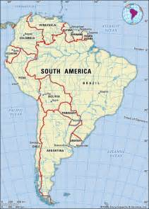 south america river map orinoco river map