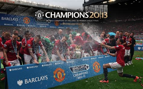 champions  manchester united wallpaper