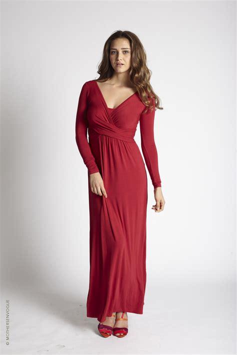 Vogue Maxi mothers en vogue wrap maxi nursing dress