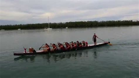 dragon boat racing miami puff dragon boat racing team practice aerial media