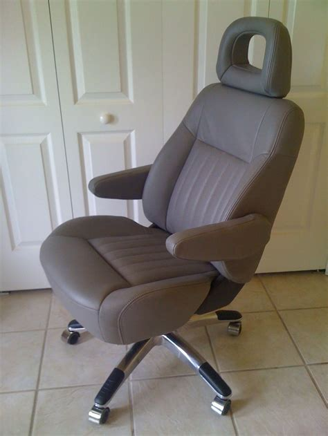 recliners for cers car seat transformed into executive office chair by the