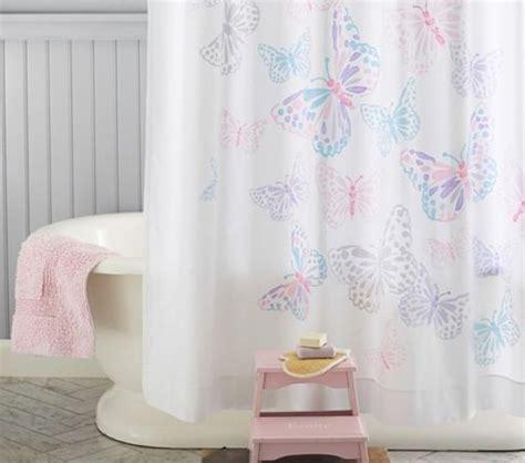 pottery barn kids bathroom ideas pottery barn kids butterfly shower curtain new pink purple