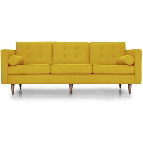 Yellow Leather Sofa Best 25 Yellow Leather Sofas Ideas On Pinterest Masculine Living Room Wallpaper Navy Leather
