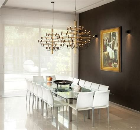 dining room accent wall grey white wall kvriver