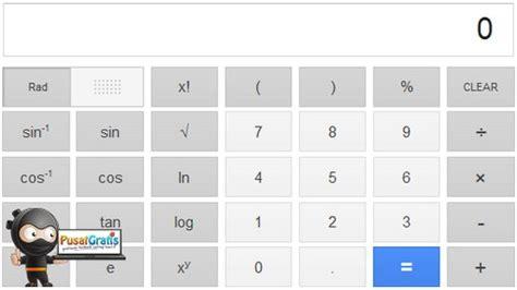 calculator online lengkap mengerjakan matematika tidak sulit lagi dengan adanya