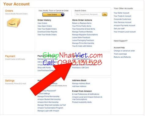 How To Apply Visa Gift Card To Amazon Account - mua h 224 ng tr 234 n amazon nhật bản bằng thẻ visa gift card