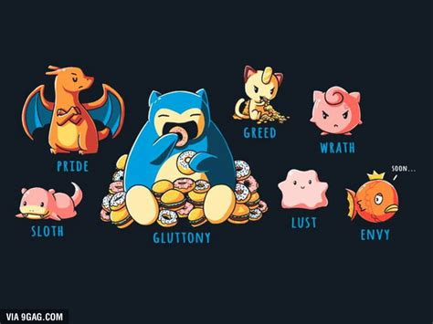 Tshirt Evolution Chap the seven deadly sins 9gag