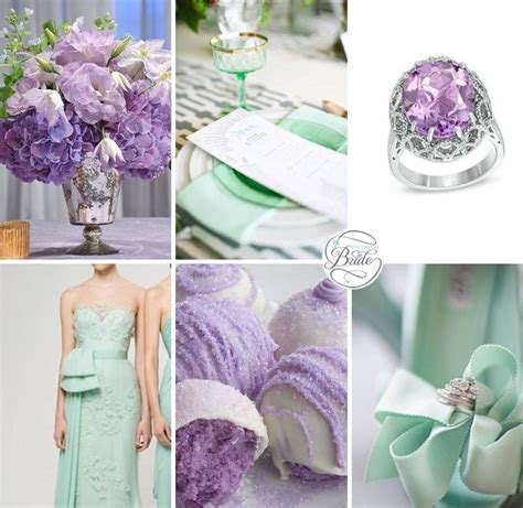 mint and purple wedding 25 best ideas about mint color schemes on