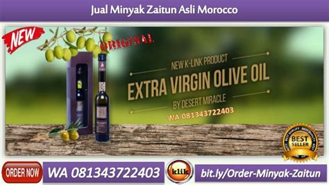 wa  jual minyak zaitun asli morocco  pekalongan