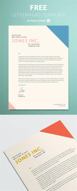 letterhead template indesign