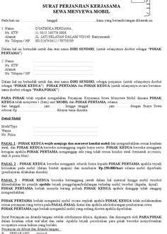 Contoh Surat Penawaran Barang | Surat, Proposal, The rules