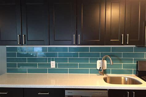 blog diy turquoise subway tile backsplash
