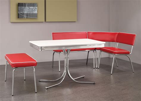 retro kitchen furniture red retro kitchen table chairs when red become a