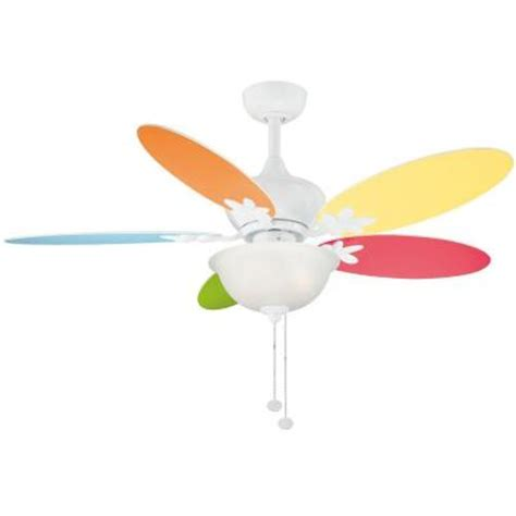 childrens ceiling fans hton bay harper ii 44 in white ceiling fan ac324a wh