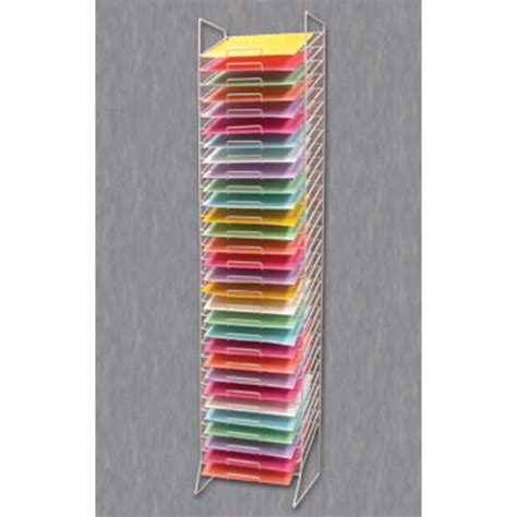 paper shelves racks scrapbooking paper storage